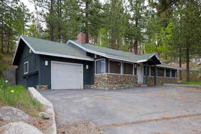 Tahoe City, Stateline, Zephyr Cove Single Family Home Active/Pending-Call: 454 Kingsbury Grade