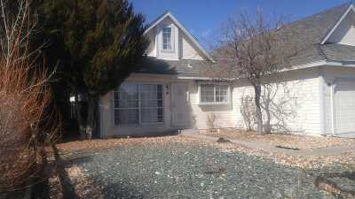 Carson City Single Family Home For Sale: 1672 Truckee Drive