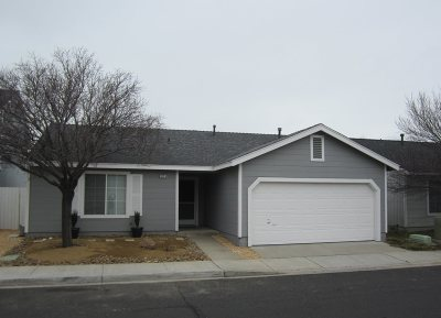 Reno Single Family Home For Sale: 3139 Winter Rose Circle