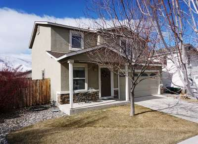 Reno Single Family Home Active/Pending-Loan: 8849 Silverkist Drive