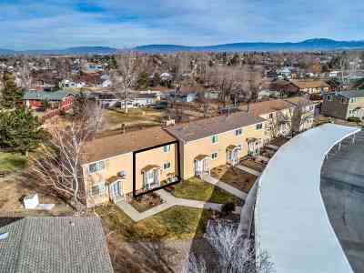 Gardnerville Condo/Townhouse For Sale: 1271 Redwood Circle #7