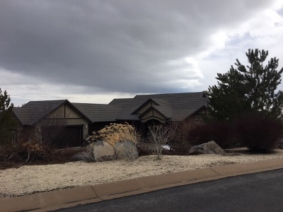 Reno Single Family Home Active/Pending-Loan: 8340 Twin Rock Trail