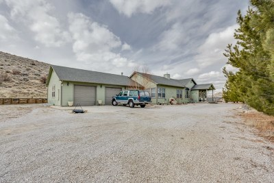 Reno Single Family Home For Sale: 15365 N. Red Rock Rd.