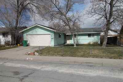 Carson City Single Family Home Active/Pending-Loan: 1304 Camille Dr