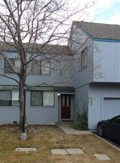 Sparks Condo/Townhouse For Sale: 2543 Betsy