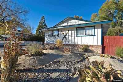 Reno Single Family Home Back On Market: 1255 Casa Loma