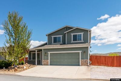 Reno Single Family Home Active/Pending-Loan: 18228 Cedar View