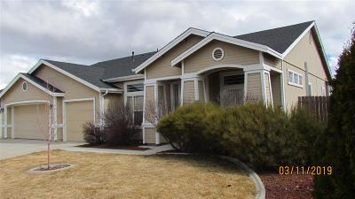 Reno Single Family Home For Sale: 17650 Boulder Springs Ct.