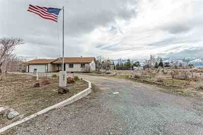 Washoe Valley Single Family Home Active/Pending-Loan: 3065 Eastlake Boulevard