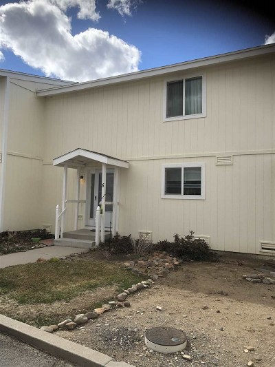 Gardnerville Condo/Townhouse Active/Pending-Loan: 1277 Redwood Circle Apt 6