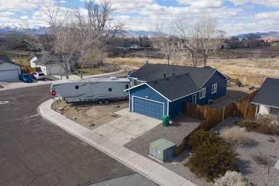 Fernley Single Family Home Active/Pending-Loan: 590 Vance