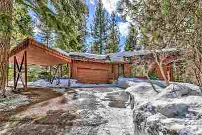 Zephyr Cove Single Family Home Active/Pending-Loan: 116 Ponderosa Circle