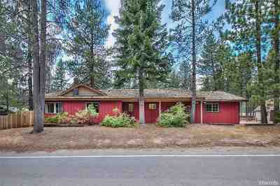 South Lake Tahoe CA Single Family Home For Sale: $399,500