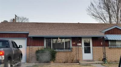 Sparks Single Family Home Active/Pending-Loan: 660 L Street