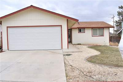 Carson City NV Single Family Home For Sale: $259,900