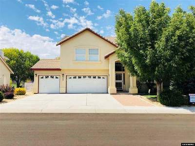 Fernley Single Family Home Active/Pending-House: 223 Mary Lou Ln