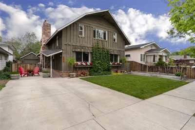 Reno Single Family Home For Sale: 711 Gordon Ave