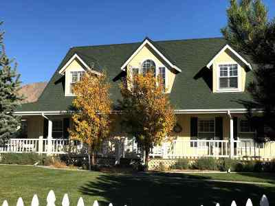 Reno Single Family Home Active/Pending-Loan: 4880 W Hidden Valley Drive