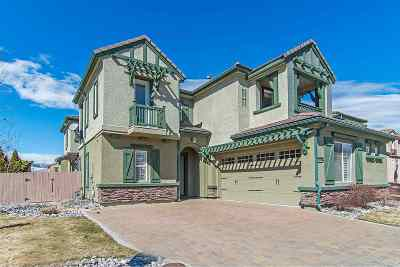Reno Single Family Home For Sale: 10895 Pentwater