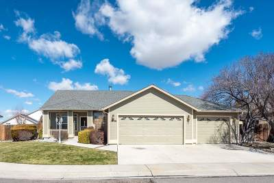 Gardnerville Single Family Home For Sale: 1306 Windsor