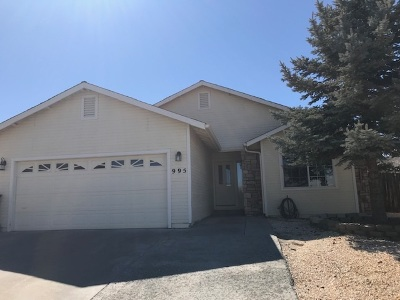 Carson City Single Family Home Active/Pending-Loan: 995 Ridgeview Dr.