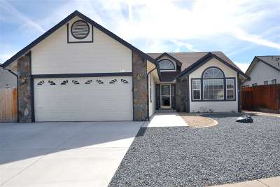 Carson City Single Family Home New: 545 Meridian Court