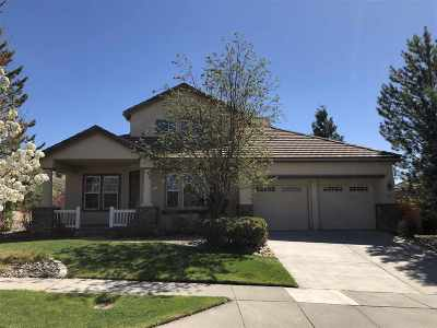 Reno Single Family Home For Sale: 1880 Morgan Pointe
