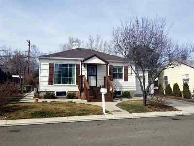 Reno Single Family Home New: 1615 Ordway