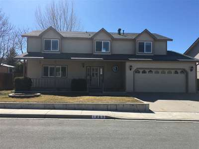 Carson City Single Family Home Price Reduced: 1863 Van Epps Drive