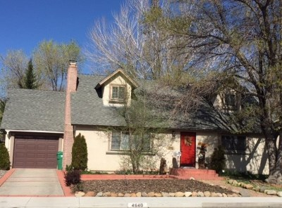 Reno Single Family Home For Sale: 4640 Aster Drive