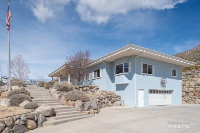 Carson City Single Family Home For Sale: 92 Manzanita Terrace