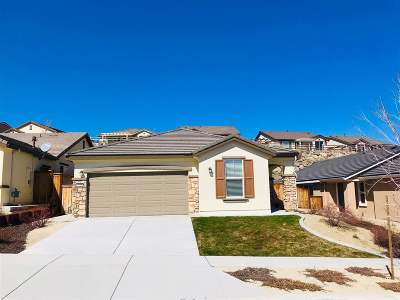Reno Single Family Home New: 1210 Wakefield Trail