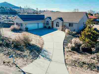 Carson City Single Family Home Active/Pending-House: 2051 Damon Rd
