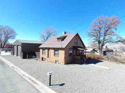 Winnemucca Single Family Home For Sale: 838 Lay St