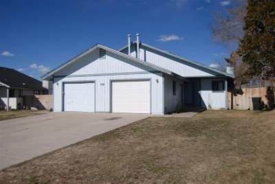 Gardnerville Multi Family Home For Sale: 806 Wagon Dr