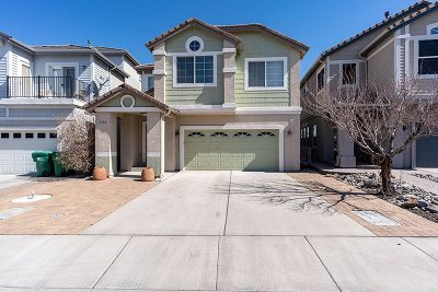 Sparks NV Single Family Home New: $496,500
