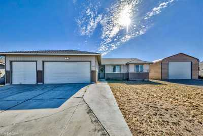 Fernley Single Family Home Active/Pending-Loan: 1321 Nevada Pacific Blvd