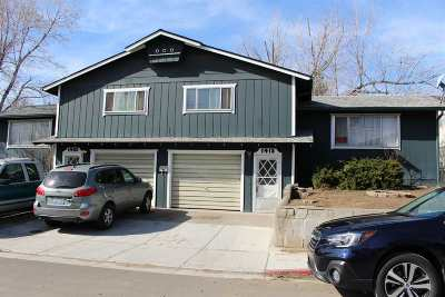 Reno Multi Family Home Active/Pending-Loan: 1415 Terrace Dr