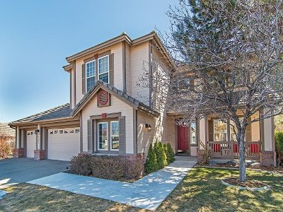 Carson City Single Family Home New: 2453 Roxbury Way