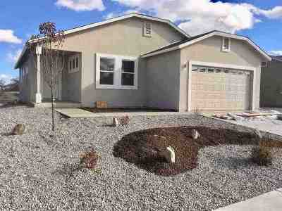 Fallon Single Family Home New: 1336 Onda Verde