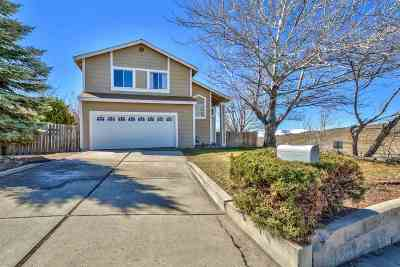 Reno Single Family Home New: 3405 Scottsdale