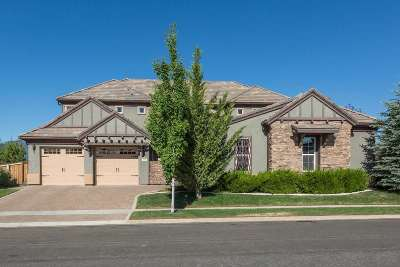 Reno Single Family Home Active/Pending-Loan: 1895 Champion Hills Drive