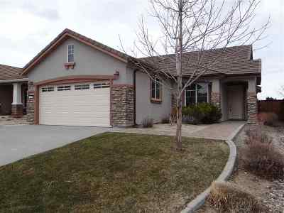 Reno Single Family Home New: 1680 Autumn Valley
