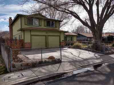 Reno Single Family Home For Sale: 4170 Billy Drive