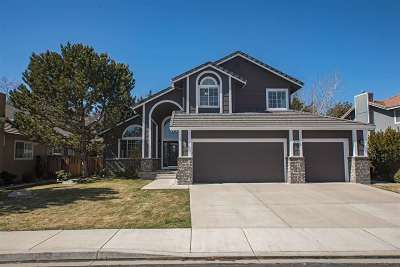 Reno Single Family Home For Sale: 6495 Brookview Circle
