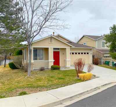 Reno Single Family Home Active/Pending-Loan: 2505 Bentley Drive