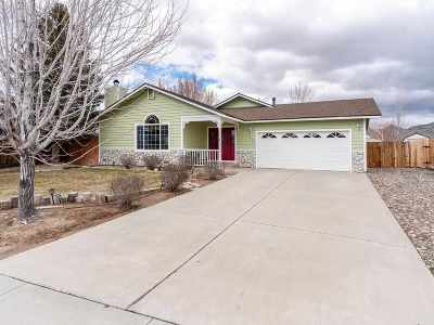 Minden Single Family Home For Sale: 1341 Bridle Way
