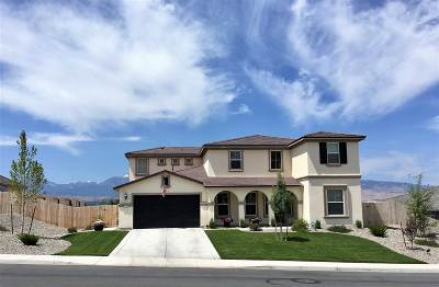 Reno Single Family Home New: 2780 Trail Rider Drive