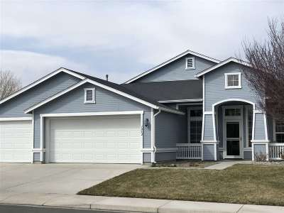 Fernley Single Family Home For Sale: 1062 Greenbrook