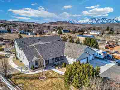 Gardnerville Single Family Home New: 1973 Lacey Ct.